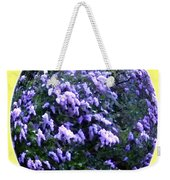 Painted Lilacs Weekender Tote Bag