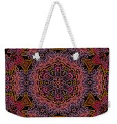 Painted Lobster Kaleido Weekender Tote Bag