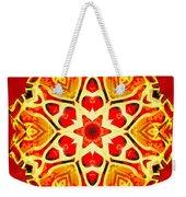 Painted Lotus Xi Weekender Tote Bag