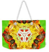 Painted Lotus Xii Weekender Tote Bag