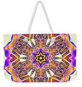 Painted Lotus Xiv Weekender Tote Bag