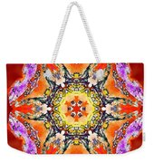 Painted Lotus Xvii Weekender Tote Bag