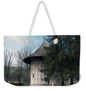 Painted Monastery Weekender Tote Bag
