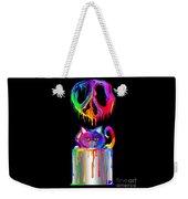 Painted Peace Weekender Tote Bag