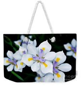 Painted Petals Weekender Tote Bag