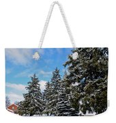 Painted Pines Weekender Tote Bag