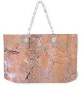 Painted Pink Concrete Weekender Tote Bag