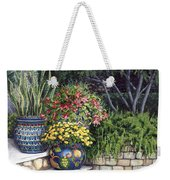 Painted Pots Weekender Tote Bag