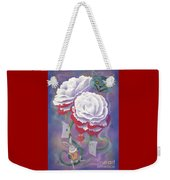 Painted Roses For Wonderland's Heartless Queen Weekender Tote Bag