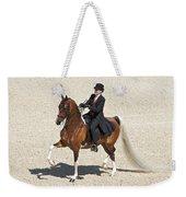 Painted Saddlebred Weekender Tote Bag
