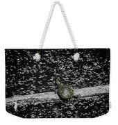 Painted Turtle In A Monochrome World Weekender Tote Bag