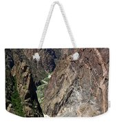 Painted Wall Black Canyon Of The Gunnison Weekender Tote Bag