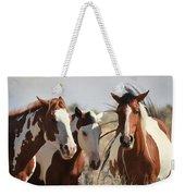Painted Wild Horses Weekender Tote Bag