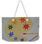 Painter's Bliss Weekender Tote Bag