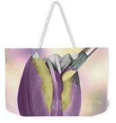 Painting A Tulip Weekender Tote Bag