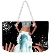 Painting In Real Life Composite Of 5 Photos Weekender Tote Bag