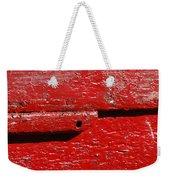 Painting It Red Weekender Tote Bag