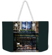 Can You See The Ghost In The Top Window At The Old Original Bakewell Pudding Shop Weekender Tote Bag