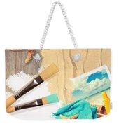 Painting Summer Postcard Weekender Tote Bag by Amanda Elwell