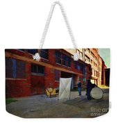 Painting The Photographer Weekender Tote Bag