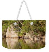 Painting White Rocks Weekender Tote Bag
