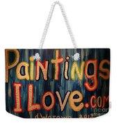 Paintings I Love .com Weekender Tote Bag