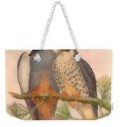 Pair Amur Falcons Weekender Tote Bag