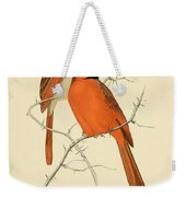 Pair Of Cardinals Weekender Tote Bag