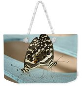 Pair Of Citrus Swallowtail Butterflies  Weekender Tote Bag