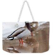 Pair Of Ducks Weekender Tote Bag