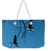 Pair Of Geese Weekender Tote Bag