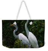 Pair Of Herons Weekender Tote Bag