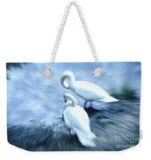 Pair Of Swans Weekender Tote Bag