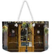 Palace Bar - Dublin Ireland Weekender Tote Bag