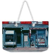 Palace Barber Shop And Lees Candy Store Weekender Tote Bag