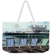 Palace Pier Brighton Weekender Tote Bag