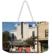 Palace Theater --- Georgetown Texas  Weekender Tote Bag