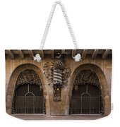Palau Guell 1886 To 88 Gaudi Barcelona Spain Dsc01413 Weekender Tote Bag
