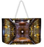 Palau Guell Ceiling Weekender Tote Bag