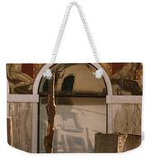 Palazzo Salviati Details Of The Facade Weekender Tote Bag