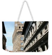 Palazzo Vecchio And Uffizien Weekender Tote Bag