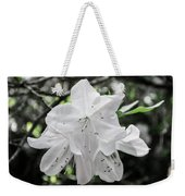 Pale Beauty Weekender Tote Bag