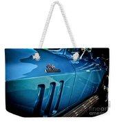 Pale Blue Rider -2 Weekender Tote Bag