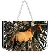 Pale Horse Weekender Tote Bag by Aidan Moran