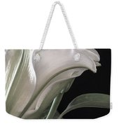 Pale Lily Weekender Tote Bag
