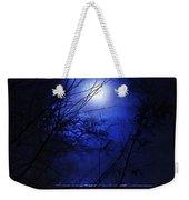 Pale Moon Weekender Tote Bag