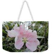 Pale Pink Crabapple Blossom Weekender Tote Bag