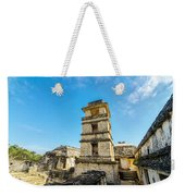 Palenque Palace Tower Weekender Tote Bag