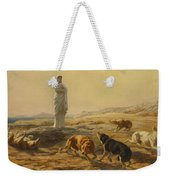 Pallas Athena And The Herdsmans Dogs Weekender Tote Bag
