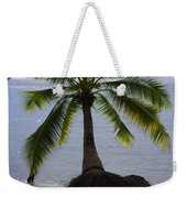 Palm At The Edge Of The Sea Number Two Weekender Tote Bag